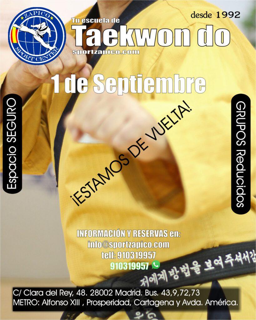 Taekwondo_zapico Madrid
